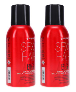 Sexy Hair Big Sexy Hair What A Tease Backcomb In A Bottle 4.2 oz 2 Pack