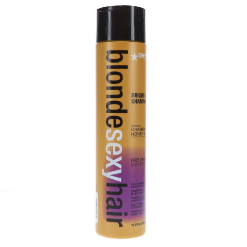 Sexy Hair Blonde Sexy Hair Sulfate-Free Bright Violet Shampoo 10.1 oz