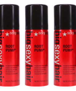 Sexy Hair Big Sexy Hair Root Pump Volumizing Spray Mousse 1.6 oz 3 Pack