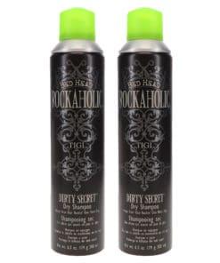 TIGI Bed Head Rockaholic Dirty Secret Dry Shampoo 6.3 oz 2 Pack