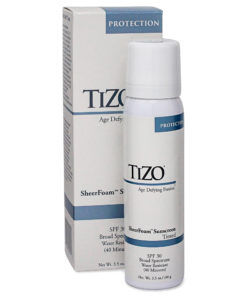TIZO SheerFoam SunScreen Tinted SPF 30 3.5 oz