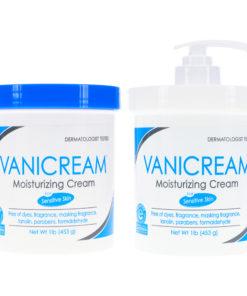 Vanicream Moisturizing Skin Cream with Pump Dispenser 16 oz & Moisturizing Skin Cream Jar 16 oz Combo Pack