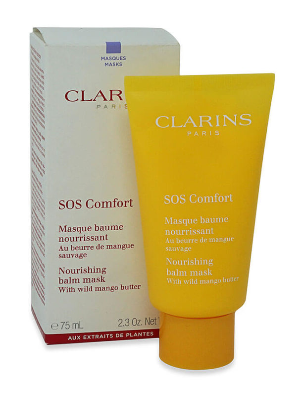 comforting balm Clarins SOS Comfort Nourishing Balm Mask