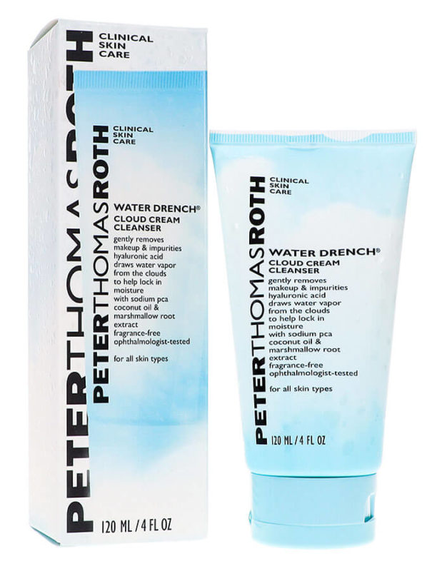 Peter Thomas Roth Water Drench Cleanser helps oily skin in summer